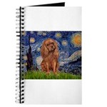 Starry Night Ruby Cavalier Journal