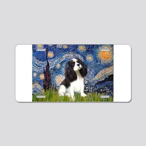 Starry Night Tri Cavalier Aluminum License Plate