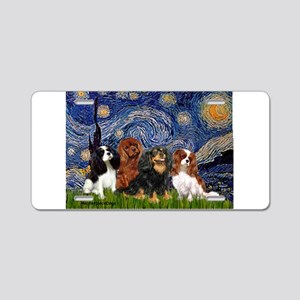 Starry / 4 Cavaliers Aluminum License Plate