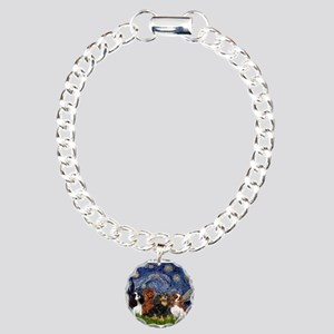 Starry / 4 Cavaliers Charm Bracelet, One Charm