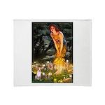 Fairies & Chihuahua Throw Blanket