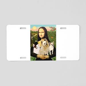 Mona / 3 Chihs Aluminum License Plate