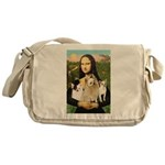 Mona / 3 Chihs Messenger Bag