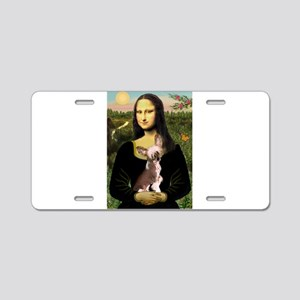 Mona / C Crested(HL) Aluminum License Plate