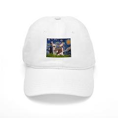 Starry Night / 2Chinese Crest Baseball Cap