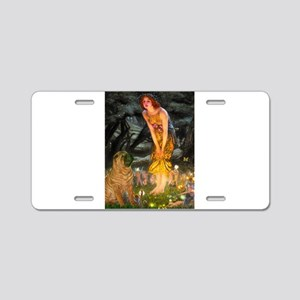 Fairies / Shar Pei Aluminum License Plate