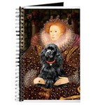 Queen / Cocker Spaniel (blk) Journal