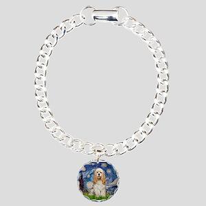Starry / Cocker #1 Charm Bracelet, One Charm