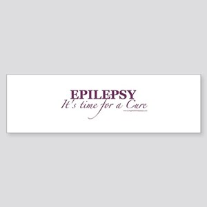 epilepsy time for a cure_lwwe Bumper Sticker