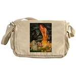 Midsummer / Cocker Spaniel Messenger Bag