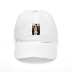 Mona Lisa / Cocker Spaniel Baseball Cap