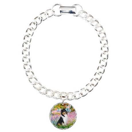 Garden / Collie Charm Bracelet, One Charm