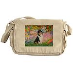 Garden / Collie Messenger Bag
