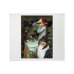 Ophelia / Collie (tri) Throw Blanket