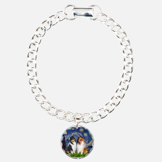 Starry Night / Collie pair Bracelet