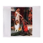 Accolade / Collie (s&w) Throw Blanket