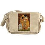 The Kiss / Coton Messenger Bag