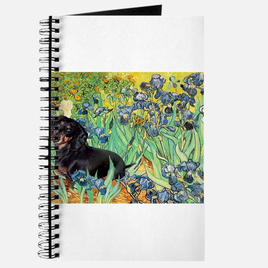 Irises & Dachshund (BT4) Journal