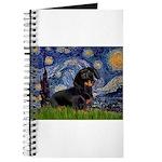 Starry Night Dachshund Journal