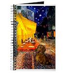 Cafe /Dachshund Journal
