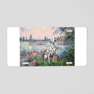 Seine / Dalmatian #1 Aluminum License Plate