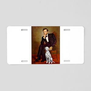 Lincoln / Dalmatian #1 Aluminum License Plate