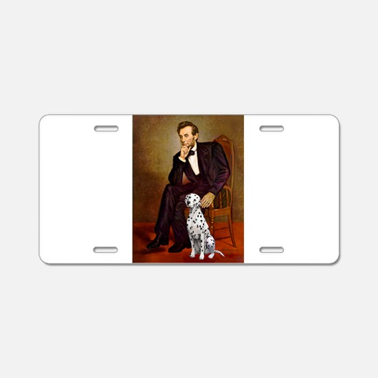 Lincoln / Dalmatian #1 Aluminum License Plate