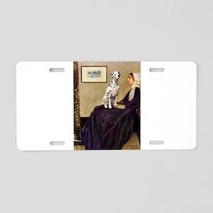 Whistler's / Dalmatian #1 Aluminum License Plate