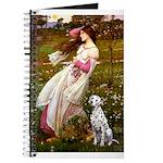 Windflowers / Dalmatian #1 Journal