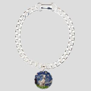 Starry /Dalmatian Charm Bracelet, One Charm