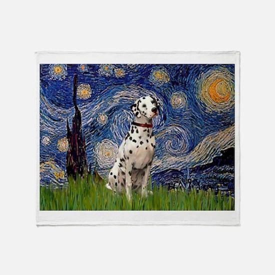 Starry /Dalmatian Throw Blanket