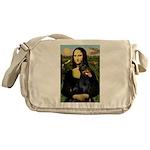 Mona's Doberman Messenger Bag