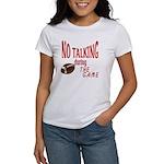 No Talking Football Women's T-Shirt