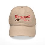 No Talking Football Cap