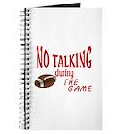 No Talking Football Journal
