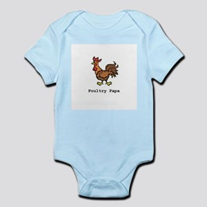 Poultry Papa Infant Bodysuit