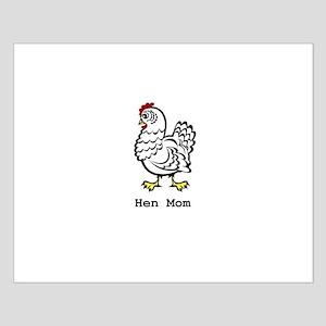 Chicken Mom Small Poster