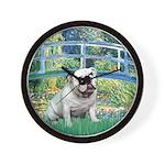 Bridge / English Bulldog (#9) Wall Clock