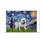 Starry Night English Bulldog Car Magnet 20 x 12