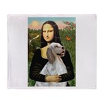 Mona's English Setter Throw Blanket