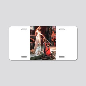Accolade / English Setter Aluminum License Plate