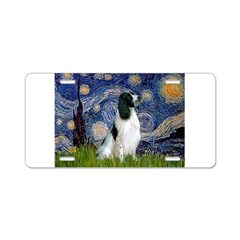 Starry / Eng Springer Aluminum License Plate
