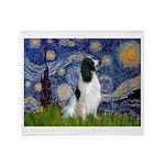 Starry / Eng Springer Throw Blanket