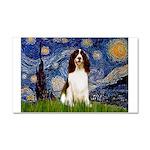 Starry Night / Eng Spring Car Magnet 20 x 12