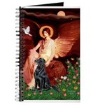Angel / Flat Coated Retriever Journal