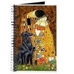 Kiss / Flat Coated Retriever Journal