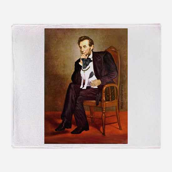 Lincoln / Smooth T (#1) Throw Blanket