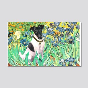 Irises / T (#1) 20x12 Wall Decal