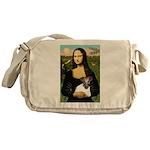 Mona & Fox Terrier Messenger Bag