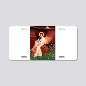Angel / Smooth T (#1) Aluminum License Plate